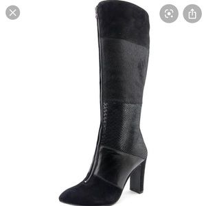 Anne Klein jaimelee black boot